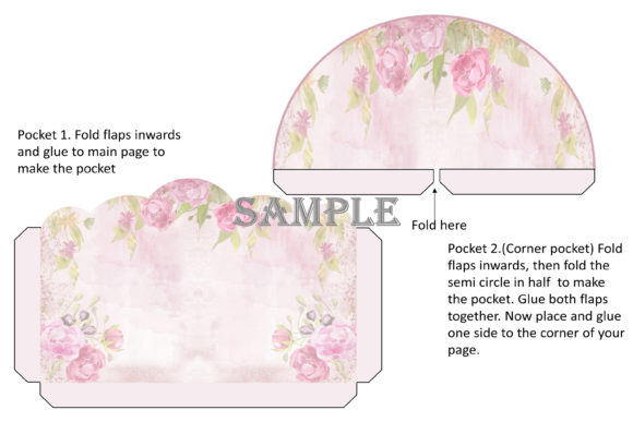 Print on Demand: Shabby Chic Printable Journal Kit Graphic Crafts By The Paper Princess - Image 11