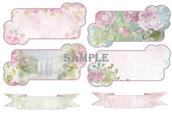 Print on Demand: Shabby Chic Printable Journal Kit Graphic Crafts By The Paper Princess - Image 8