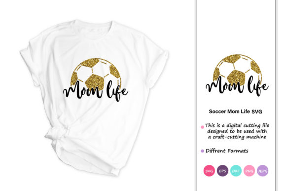 Soccer Mom Life Graphic By Iprintasty Creative Fabrica
