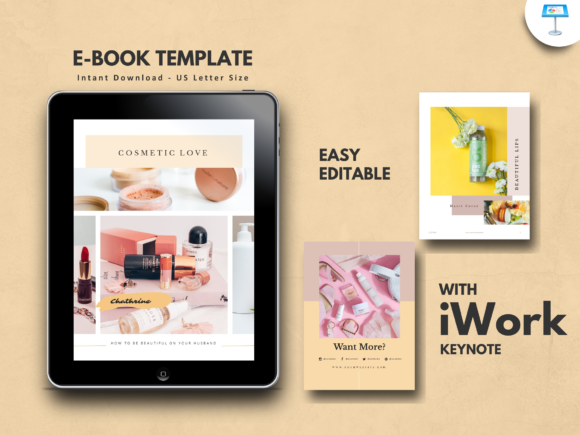 Print on Demand: Makeup Tips Keynote Presentation Templat Graphic Presentation Templates By rivatxfz