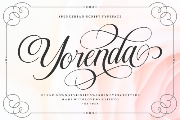 Print on Demand: Yorenda Manuscrita Fuente Por Keithzo (7NTypes)