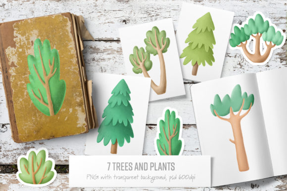 Print on Demand: Forest Scene Creator Graphic Illustrations By Architekt_AT - Image 5