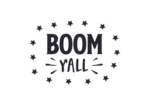 Download Free Boom Y All Svg Cut File By Creative Fabrica Crafts Creative for Cricut Explore, Silhouette and other cutting machines.