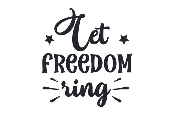 Download Free Let Freedom Ring Svg Cut File By Creative Fabrica Crafts for Cricut Explore, Silhouette and other cutting machines.