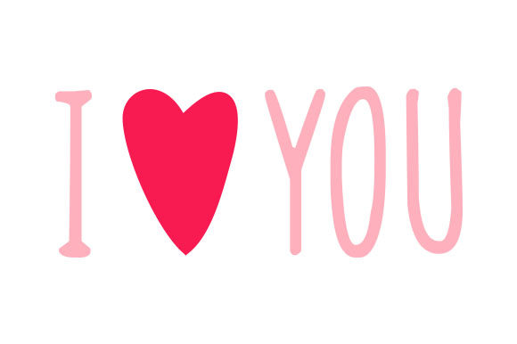 Download Free I Heart You Pink Svg Cut File By Creative Fabrica Crafts for Cricut Explore, Silhouette and other cutting machines.