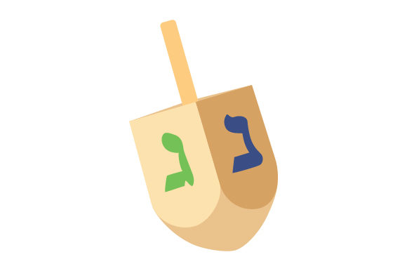 Dreidel Jewish Craft Cut File By Creative Fabrica Crafts