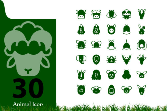 Print on Demand: Animal Icon Graphic Icons By InDhika