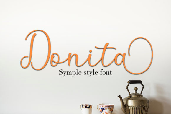 Print on Demand: Anisha Script & Handwritten Font By Greentype - Image 2