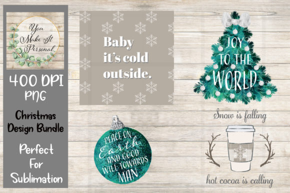 Print on Demand: Christmas Bundle Graphic Print Templates By Valerie Anderson