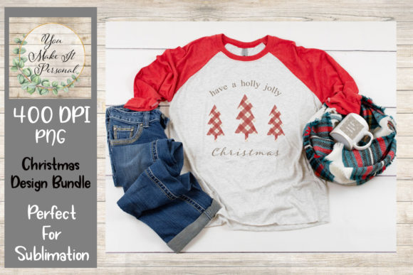 Print on Demand: Christmas Bundle, Great for Sublimation Graphic Print Templates By You Make It Personal