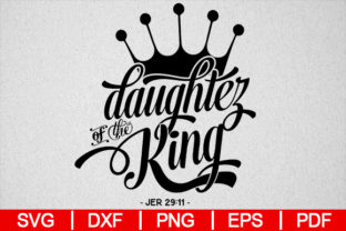 Download Free Daughter Of The King Graphic By Artistcreativedesign Creative for Cricut Explore, Silhouette and other cutting machines.