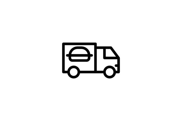 Download Free Food Truck Graphic By Alvianugrah30 Creative Fabrica for Cricut Explore, Silhouette and other cutting machines.