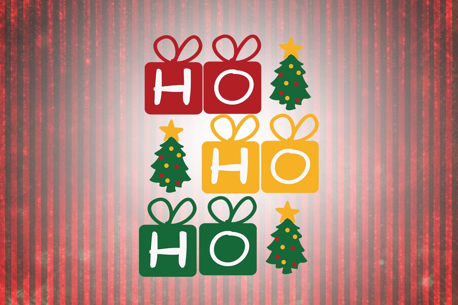 Download Free Ho Ho Ho Christmas Quotes Grafik Von Wienscollection Creative SVG Cut Files