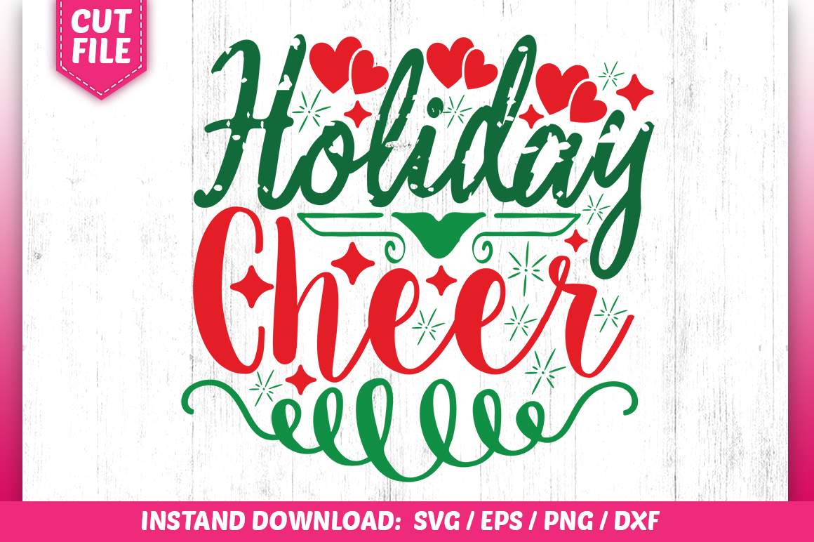 Download Free Holiday Cheer Svg Design Graphic By Subornastudio Creative Fabrica SVG Cut Files