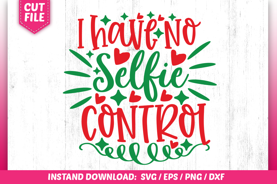 Download Free I Have No Selfie Control Svg Design Graphic By Subornastudio for Cricut Explore, Silhouette and other cutting machines.