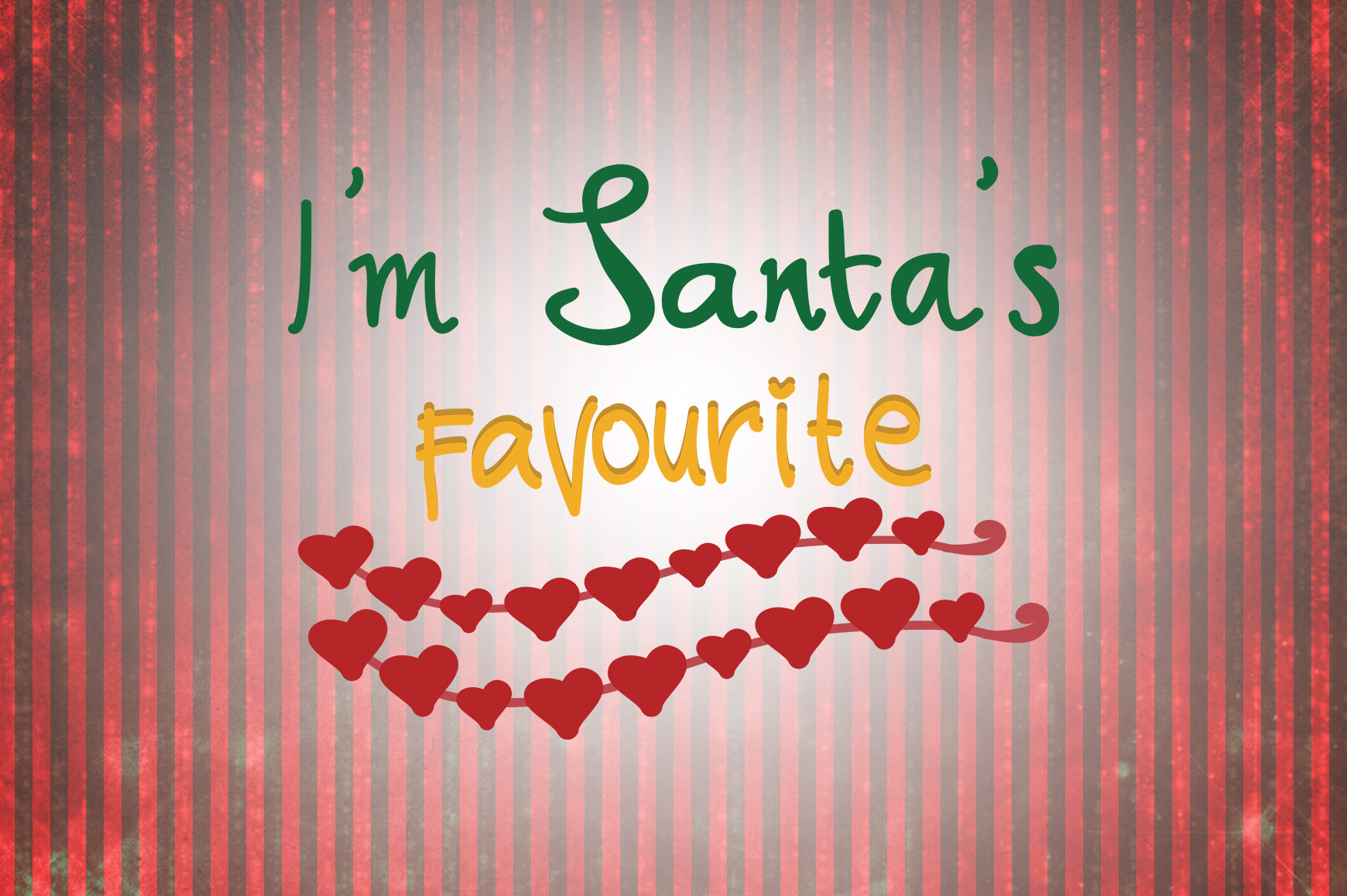 Download Free I M Santa S Favourite Christmas Quotes Graphic By for Cricut Explore, Silhouette and other cutting machines.