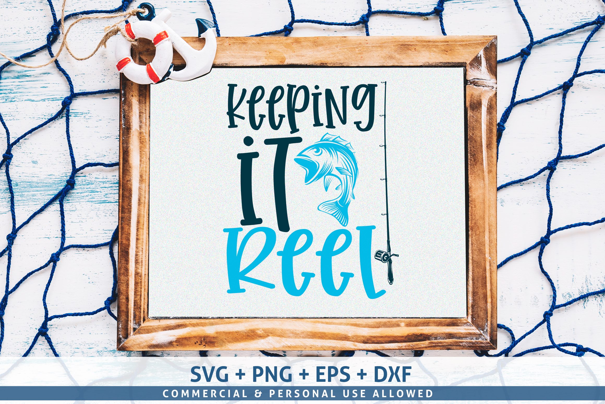 Download Free Keeping It Reel Svg Graphic By Subornastudio Creative Fabrica for Cricut Explore, Silhouette and other cutting machines.
