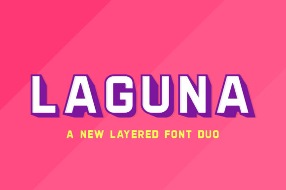 Print on Demand: Laguna Duo Sans Serif Font By Salt & Pepper Designs