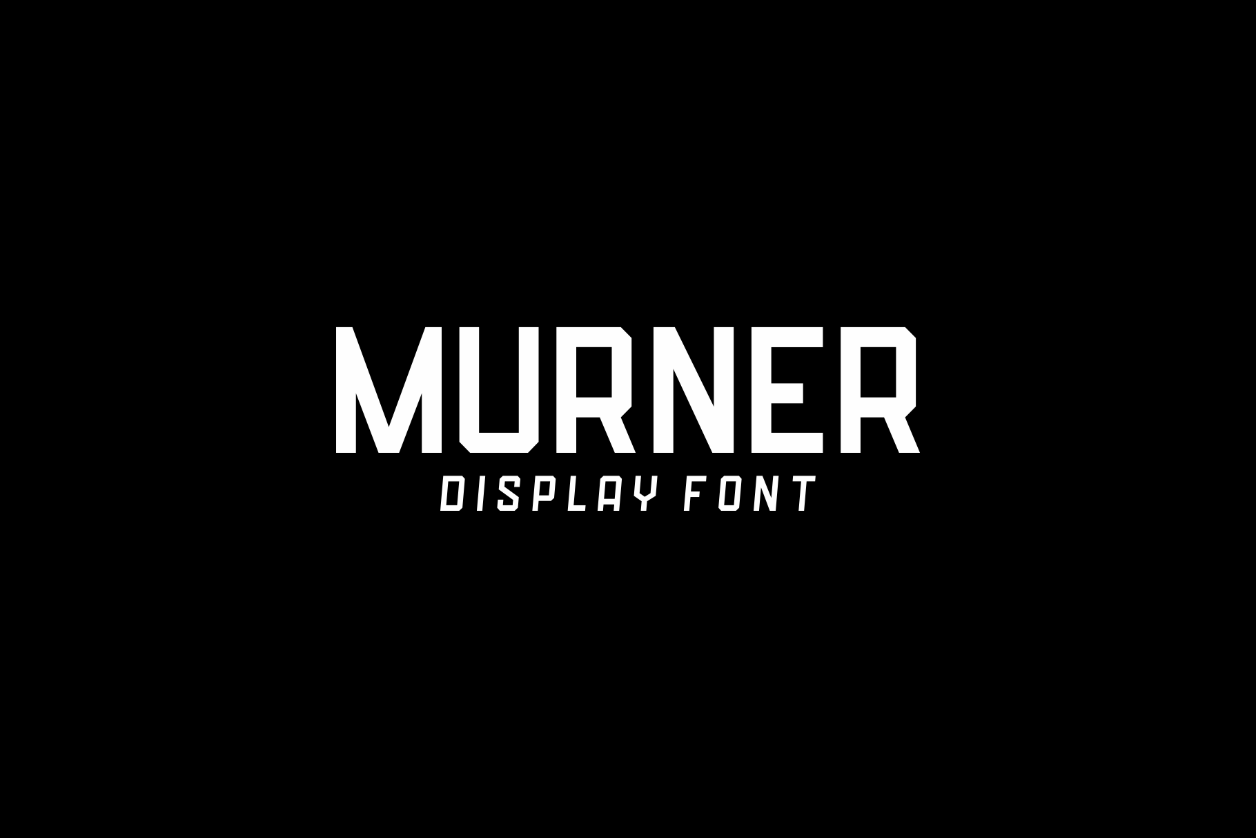 Download Free Murner Font By Nur Cholis Creative Fabrica for Cricut Explore, Silhouette and other cutting machines.