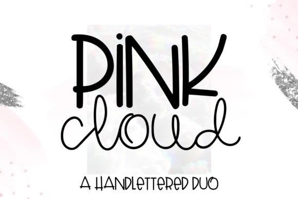 Print on Demand: Pink Cloud Script & Handwritten Font By WritingRivers