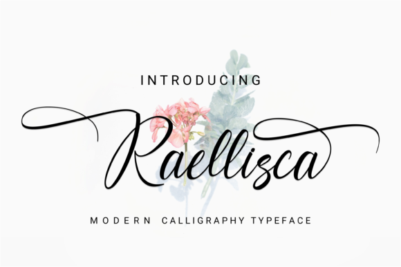 Print on Demand: Raellisca Script & Handwritten Font By Rvandtype