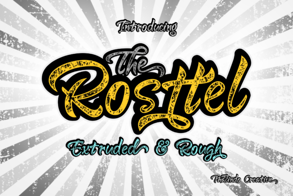 Print on Demand: Rosttel Script & Handwritten Font By Malindo Creative
