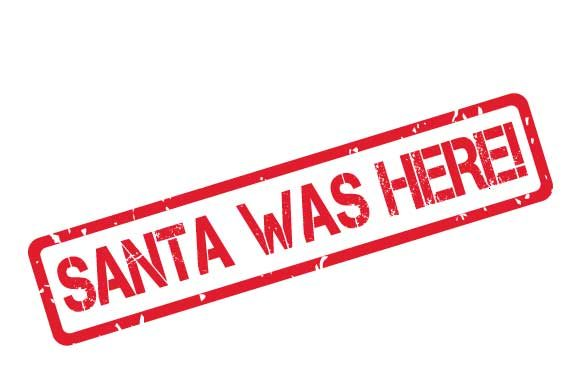 Download Free Santa Was Here Transparent Rubber Stamp Graphic By Graphicsfarm for Cricut Explore, Silhouette and other cutting machines.