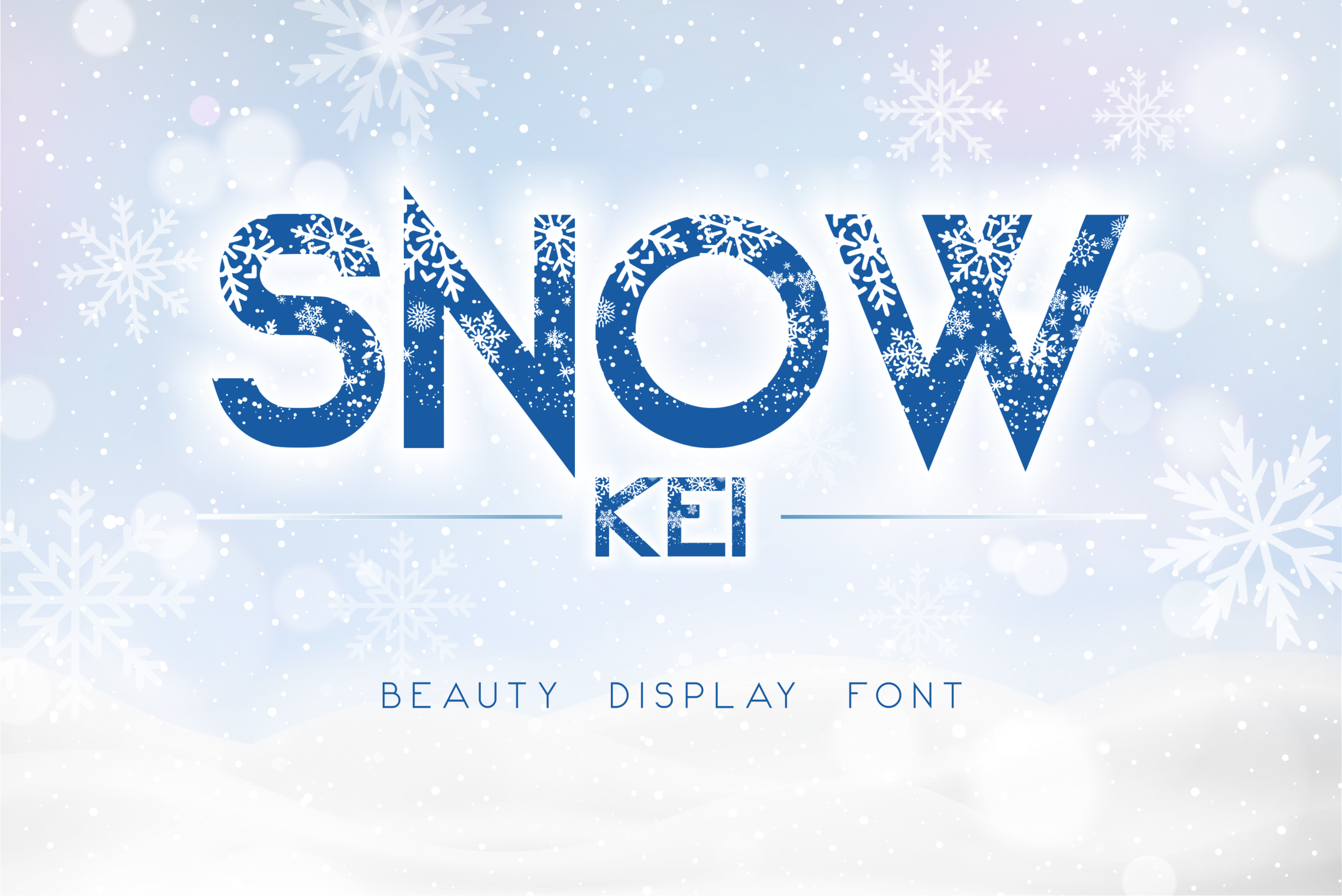 Download Free Snow Kei Font By Arukidz Fl Creative Fabrica for Cricut Explore, Silhouette and other cutting machines.