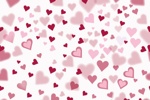 Download Free Vector Lovely Pink Pattern With Hearts Graphic By Fleurartmariia for Cricut Explore, Silhouette and other cutting machines.