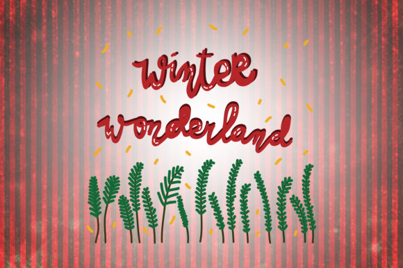 Download Free Winter Wonderland Christmas Quotes Graphic By Wienscollection SVG Cut Files