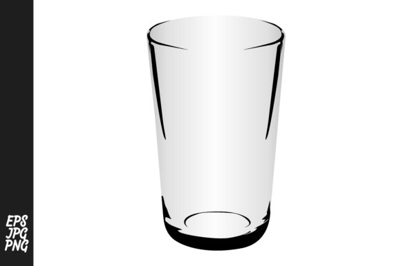Download Free Drinking Glass Vector Graphic By Arief Sapta Adjie Creative for Cricut Explore, Silhouette and other cutting machines.