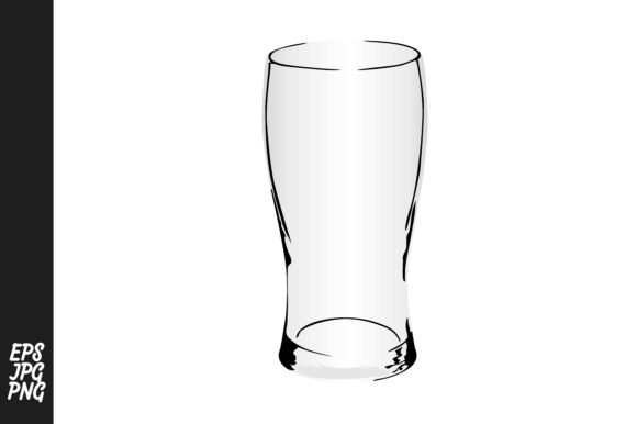 Print on Demand: Drinking Glass Vector Bundle Graphic Crafts By Arief Sapta Adjie - Image 3