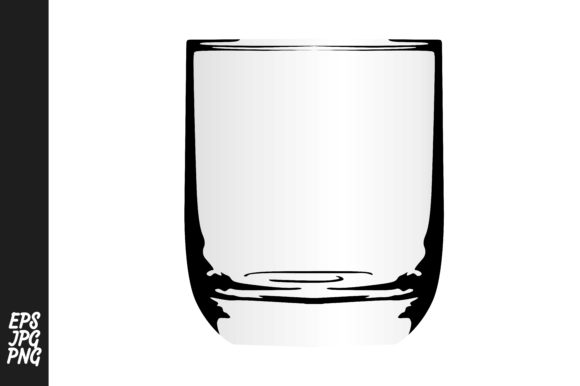 Print on Demand: Drinking Glass Vector Bundle Graphic Crafts By Arief Sapta Adjie - Image 6