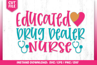 Download Free Educted Drug Bealer Nurse Svg Graphic By Subornastudio for Cricut Explore, Silhouette and other cutting machines.