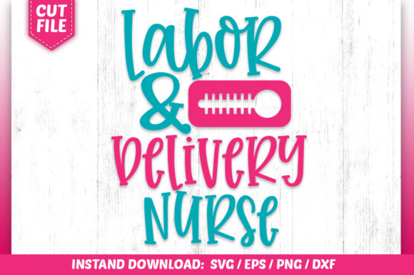 Download Free Labor Belivery Nurse Svg Graphic By Subornastudio Creative for Cricut Explore, Silhouette and other cutting machines.