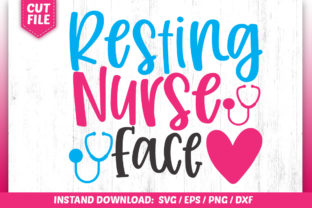 Download Free Resting Nurse Face Svg Graphic By Subornastudio Creative Fabrica for Cricut Explore, Silhouette and other cutting machines.