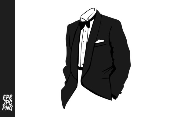 Tuxedo Suit Vector PNG (Graphic) by Arief Sapta Adjie