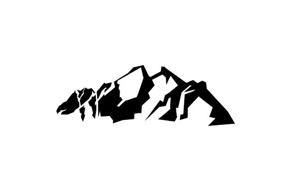 Download Free Mountains Silhouette Svg Cut File By Creative Fabrica Crafts for Cricut Explore, Silhouette and other cutting machines.