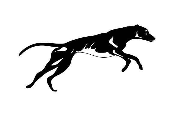 Greyhound Running Dogs Craft Cut File By Creative Fabrica Crafts - Image 2