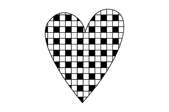 Download Free Plaid Heart Svg Cut File By Creative Fabrica Crafts Creative for Cricut Explore, Silhouette and other cutting machines.