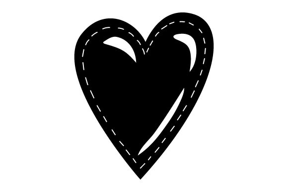 Download Free Stitched Heart Svg Cut File By Creative Fabrica Crafts for Cricut Explore, Silhouette and other cutting machines.