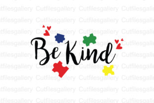 Download Free Be Kind Graphic By Cutfilesgallery Creative Fabrica for Cricut Explore, Silhouette and other cutting machines.
