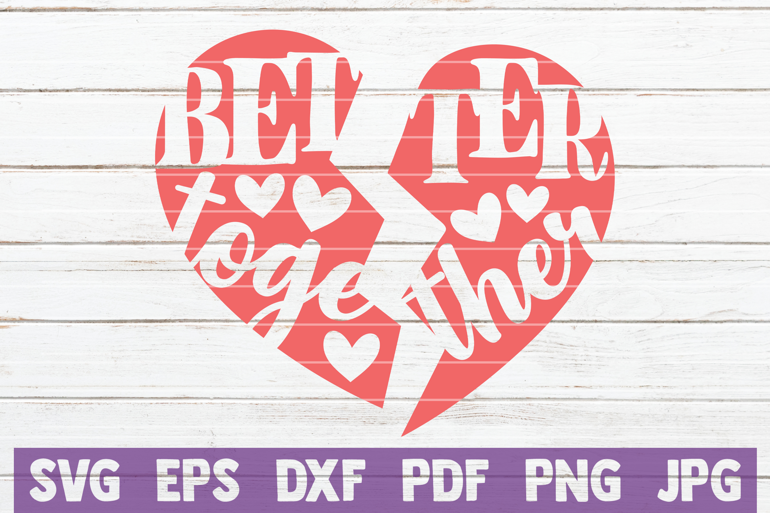 Better Together Graphic By Mintymarshmallows Creative Fabrica