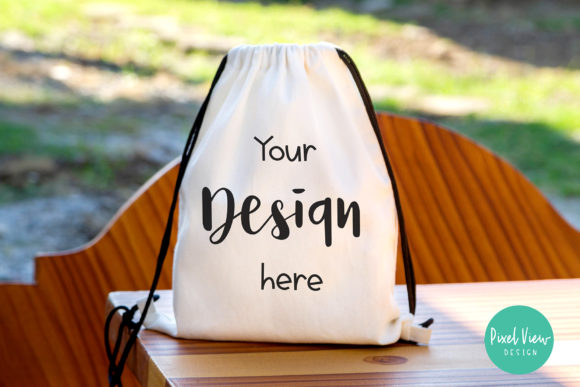 Print on Demand: Canvas Bag Mockup Graphic Product Mockups By Pixel View Design