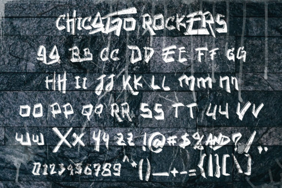 Chicago Rockers Font Preview