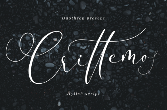 Print on Demand: Crittemo Script & Handwritten Font By it_was_a_good_day