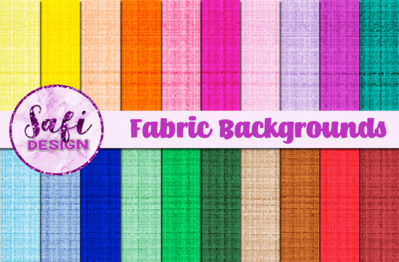 Print on Demand: Fabric Backgrounds Graphic Backgrounds By Safi Designs