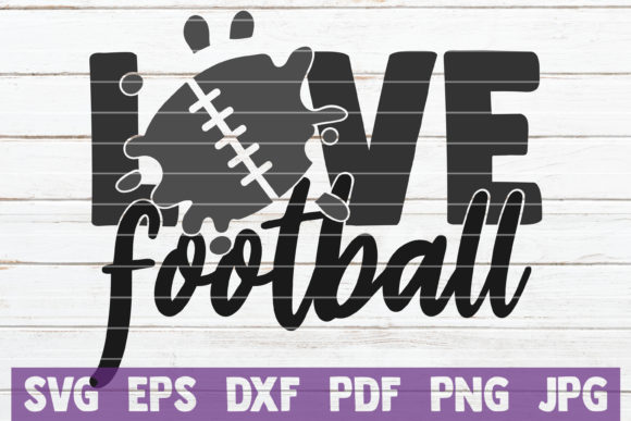 Love Football Graphic Graphic Templates By MintyMarshmallows