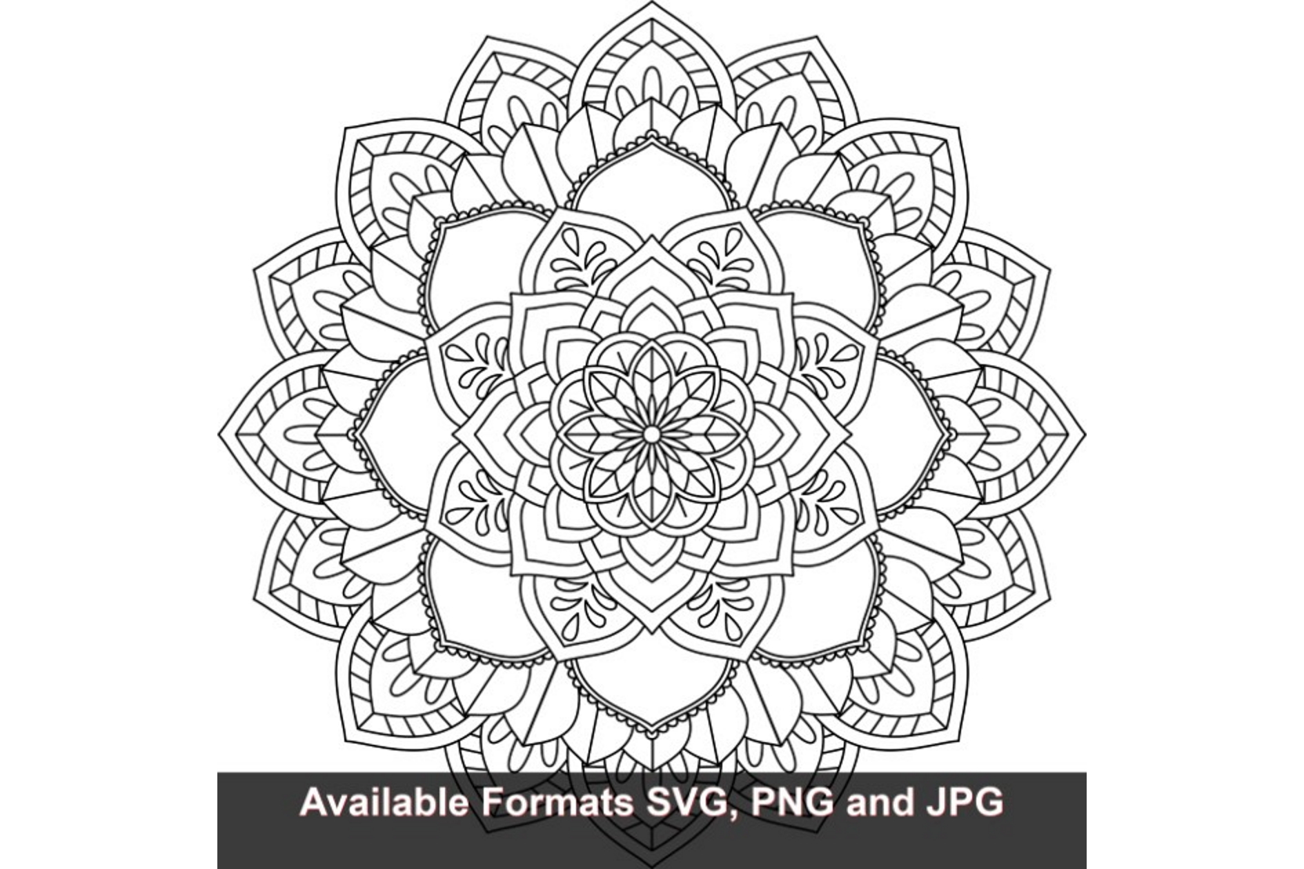 Download Free Mandala Art 473 Graphic Graphic By Iwantto Us Creative Fabrica for Cricut Explore, Silhouette and other cutting machines.