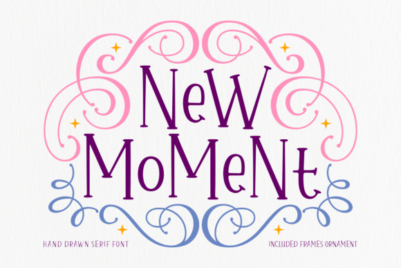 Print on Demand: New Moment Sans Serif Font By Situjuh - Image 1